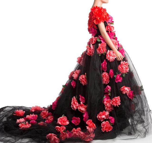 larger floral dress